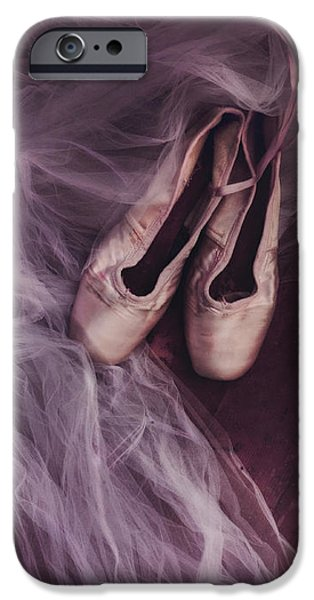 Dance iPhone Cases - Danse Classique iPhone Case by Priska Wettstein