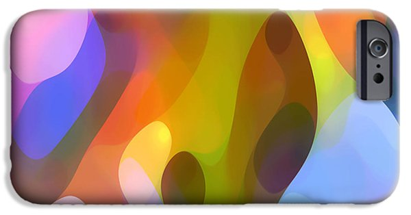 Abstract Movement iPhone Cases - Dappled Art 8 iPhone Case by Amy Vangsgard