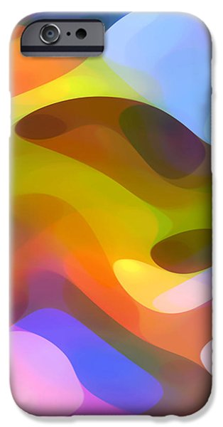Abstract Movement iPhone Cases - Dappled Light 5 iPhone Case by Amy Vangsgard