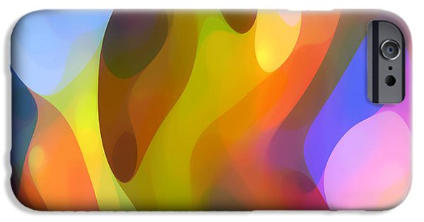 Abstract Movement iPhone Cases - Dappled Light 7 iPhone Case by Amy Vangsgard