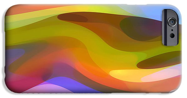 Abstract Movement iPhone Cases - Dappled Light 9 iPhone Case by Amy Vangsgard