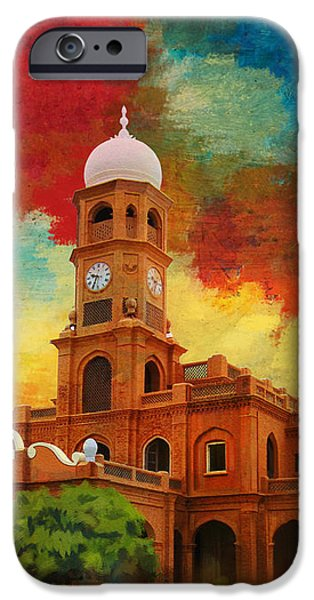 Darbar Mahal iPhone Case by Catf