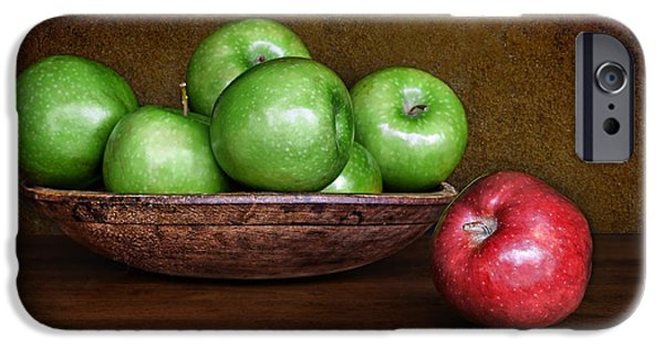 Interior Still Life iPhone Cases - Dare to Be Different #3 iPhone Case by Nikolyn McDonald