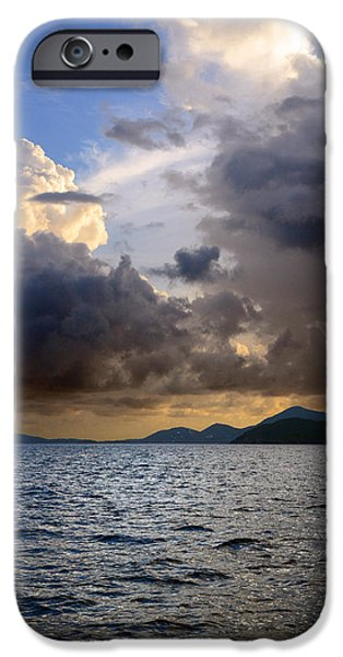 Dark and Stormy iPhone Case by    Michael Glenn