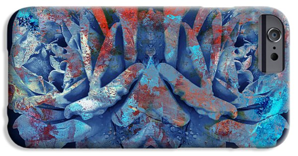 Symetry iPhone Cases - Sisters iPhone Case by Modern Art Prints