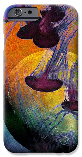 Dark Side Of The Moon 5D24939 Painterly m56 Long iPhone Case by Wingsdomain Art and Photography