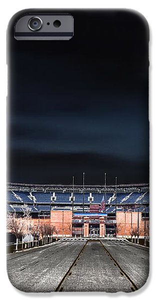 Dark Skies at Citizens Bank Park iPhone Case by Bill Cannon
