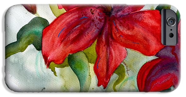 Fertility Paintings iPhone Cases - Dark Stars Detail iPhone Case by Beverley Harper Tinsley