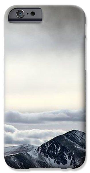 Dark Storm Cloud Mist  iPhone Case by Barbara Chichester