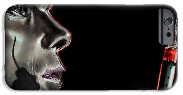 Best Sellers -  - Michael iPhone Cases - Darkly Dreaming Dexter iPhone Case by Vinny John Usuriello