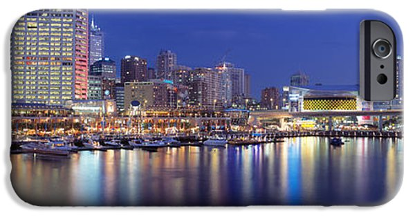 Darling iPhone Cases - Darling Harbor, Sydney, Australia iPhone Case by Panoramic Images