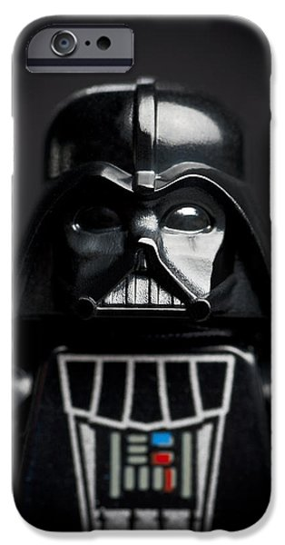 Lego iPhone Cases - Darth Vader iPhone Case by Samuel Whitton