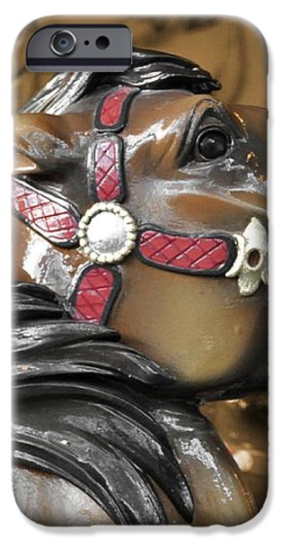 DASHING HORSES iPhone Case by JAMART Photography