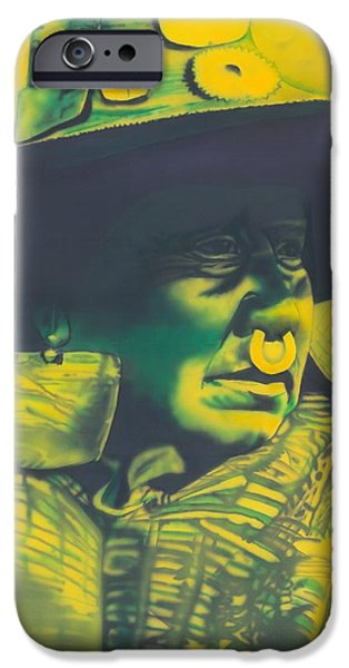 Recently Sold -  - Airbrush iPhone Cases - Daughter of Nakoaktok iPhone Case by Louis Garding