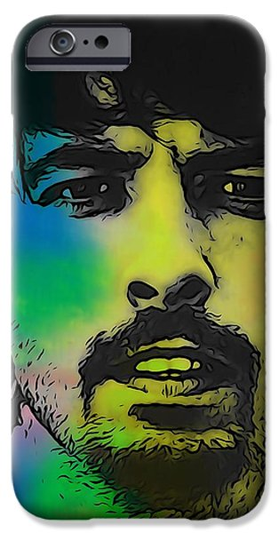 Dave Grohl iPhone Cases - Dave Grohl  iPhone Case by Dan Sproul