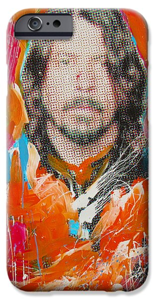 Dave Grohl iPhone Cases - Dave Grohl iPhone Case by Elliott From