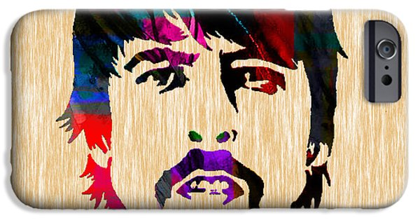 Dave Grohl iPhone Cases - Dave Grohl Foo Fighters iPhone Case by Marvin Blaine