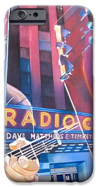 Dave matthews and Tim Reynolds at Radio City iPhone Case by Joshua Morton