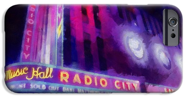 The Dave Matthews Band iPhone Cases - Dave Matthews At Radio City Music Hall iPhone Case by Dan Sproul