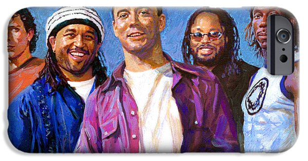 Dave Drawings iPhone Cases - Dave Matthews Band iPhone Case by Viola El