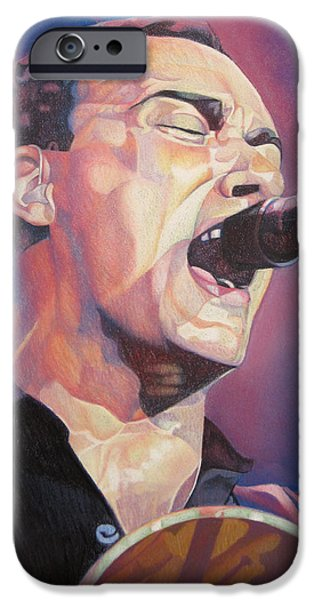 Best Sellers -  - Dave iPhone Cases - Dave Matthews Colorful Full Band Series iPhone Case by Joshua Morton