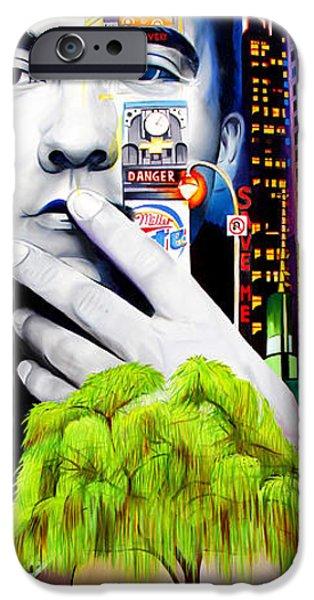 Dave Matthews Dreaming Tree iPhone Case by Joshua Morton