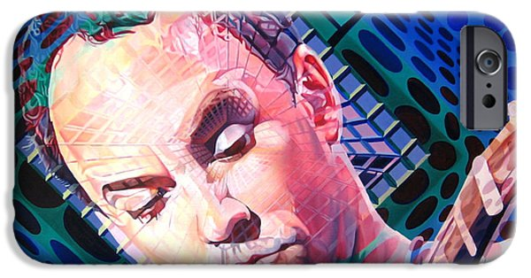 The Dave Matthews Band iPhone Cases - Dave Matthews Open Up My Head iPhone Case by Joshua Morton