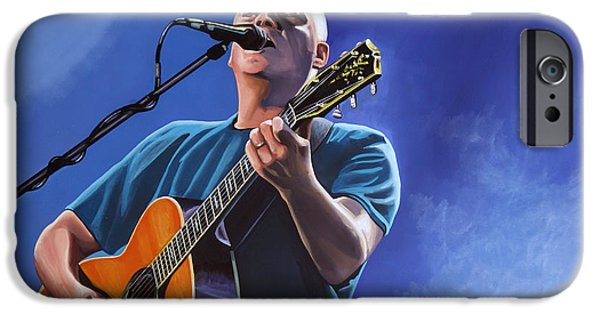 Division iPhone Cases - David Gilmour iPhone Case by Paul  Meijering