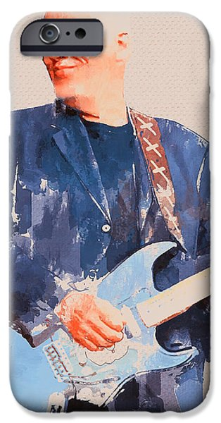 Recently Sold -  - One iPhone Cases - David Gilmour Smile iPhone Case by Yury Malkov