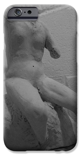 David iPhone Cases - David Unfinished iPhone Case by Michelle Reeve