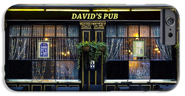 David iPhone Cases - Davids Pub iPhone Case by David Pyatt