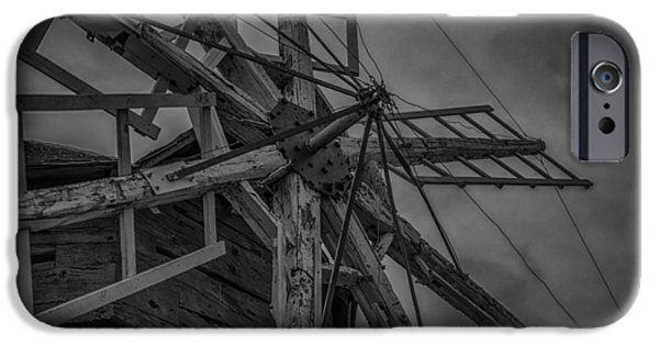 Machinery iPhone Cases - Davidson Windmill iPhone Case by Paul Freidlund