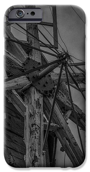 Davidson Windmill iPhone Case by Paul Freidlund