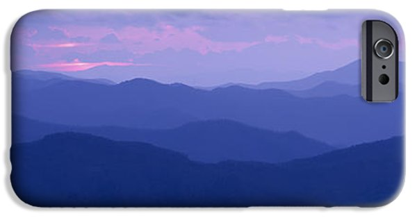 Tn iPhone Cases - Dawn Great Smoky Mountains National iPhone Case by Panoramic Images