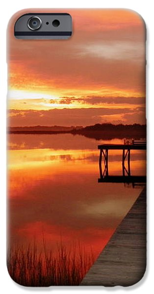DAWN of NEW YEAR iPhone Case by KAREN WILES