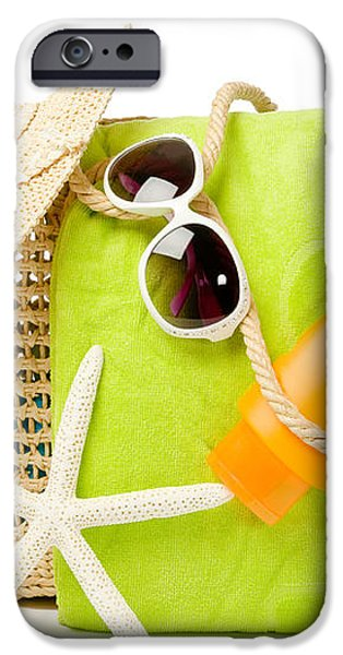 Day At The Beach iPhone Case by Amanda And Christopher Elwell
