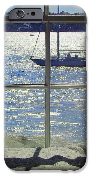 Windjammer iPhone Cases - Day Dreaming iPhone Case by Elizabeth Dow