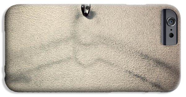 Coat Hanger iPhone Cases - Overstayed Welcome iPhone Case by Scott Collin
