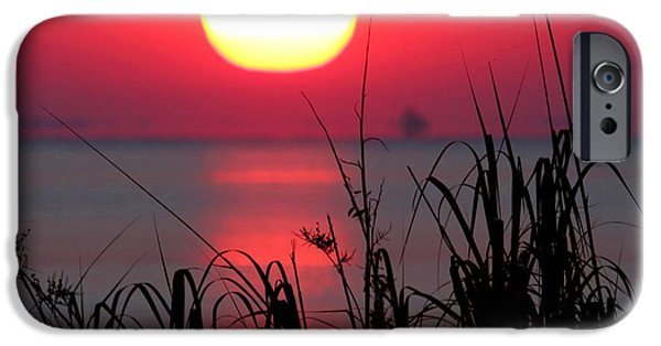 Storm iPhone Cases - Day is Done iPhone Case by Marty Fancy