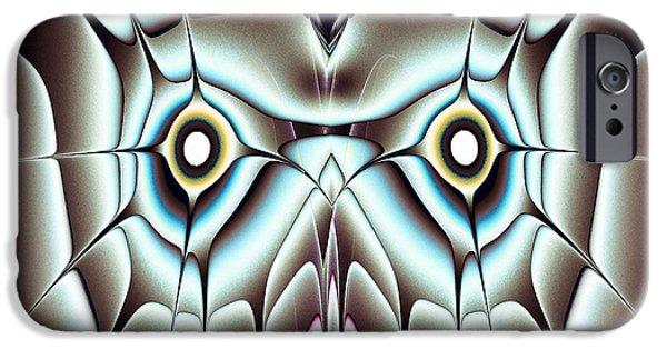 Owls iPhone Cases - Day Owl iPhone Case by Anastasiya Malakhova