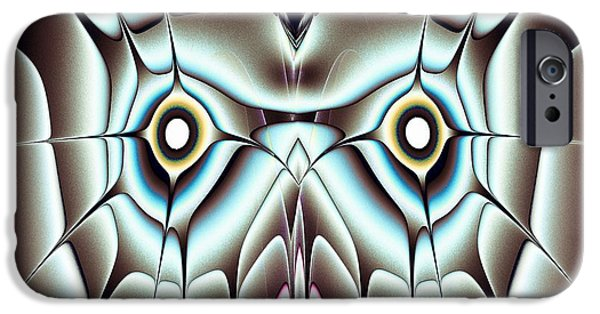 Shine iPhone Cases - Day Owl iPhone Case by Anastasiya Malakhova