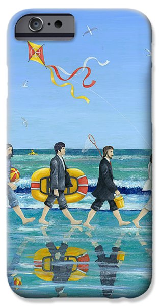 Abbey Road iPhone Cases - Day Tripper iPhone Case by Peter Adderley
