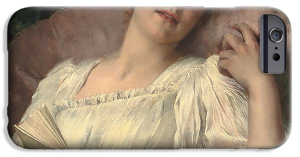 Daydream iPhone Cases - Daydreaming iPhone Case by Conrad Kiesel