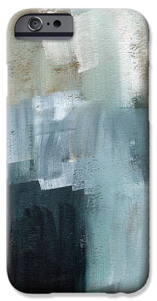 Sea Mixed Media iPhone Cases - Days Like This - Abstract Painting iPhone Case by Linda Woods