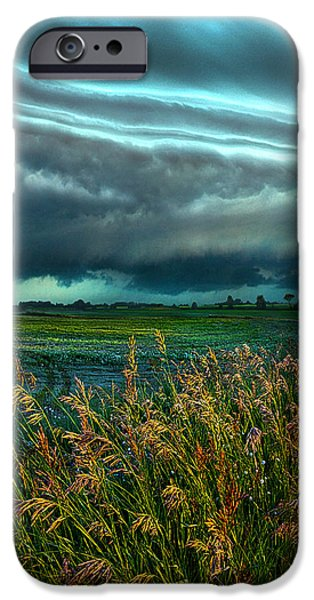 Storm iPhone Cases - Days of Thunder iPhone Case by Phil Koch