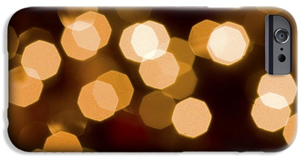Aperture Photographs iPhone Cases - Dazzling Lights iPhone Case by Rich Franco