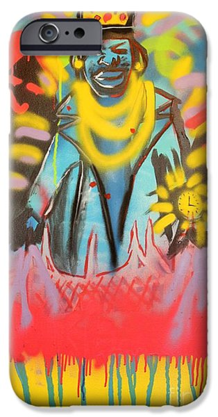 Jay Z Paintings iPhone Cases - D-Evils iPhone Case by Chris Carter