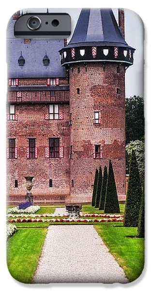 De Haar Castle 2. Utrecht. Netherlands iPhone Case by Jenny Rainbow