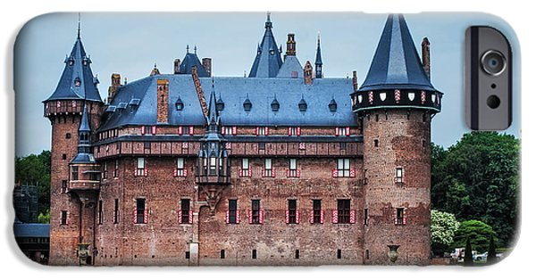Garden Scene Photographs iPhone Cases - De Haar Castle. Utrecht. Netherlands iPhone Case by Jenny Rainbow