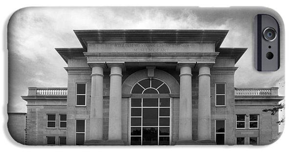 The Tiger iPhone Cases - De Pauw University Emison Building iPhone Case by University Icons